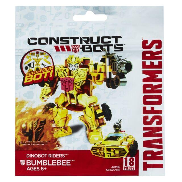 Bumblebee Transformers 4 Dinobot Riders Construct-Bots Action Figure