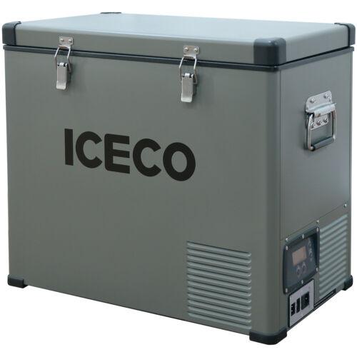 63 QT Car Fridge Freezer Cooler Portable Refrigerator SECOP Compressor 12V