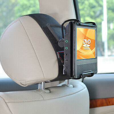 TFY Swivel Screen Portable DVD Player Holder Car Headrest Mount for 7-10 Inch