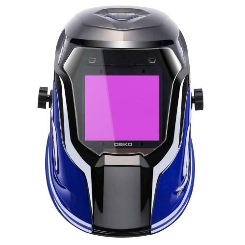 True Color Extra Large View Solar Power Auto Darkening Welding Helmet Mask