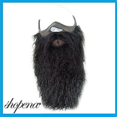 c08256e091f Black Half Neoprene Ski Snowboard Motorcycle Biker Warm Funny Beard Face  Mask +