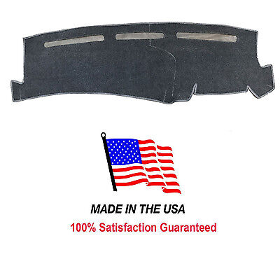 Charcoal Carpet Dash Mat Compatible w/ 2001-2006 Chevy Silverado 1500 Dash (Charcoal Carpet Dash Cover)
