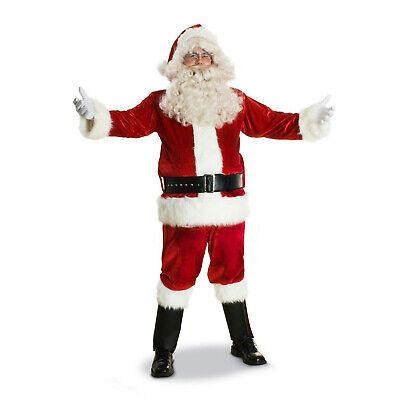 Sunnywood Men's Deluxe Santa Claus Suit Christmas Costume Large (48-50)](Large Santa Suit)
