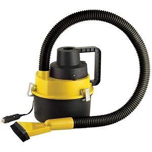 12V Wet Dry Auto Vacuum Cleaner Portable Air Pump Handheld Hover Car Van Caravan