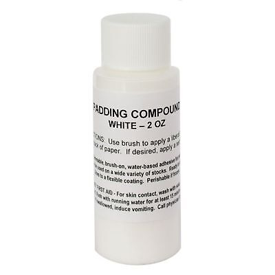 Notepad Padding Compound - White 2oz - Glue To Make Your Own Notepads