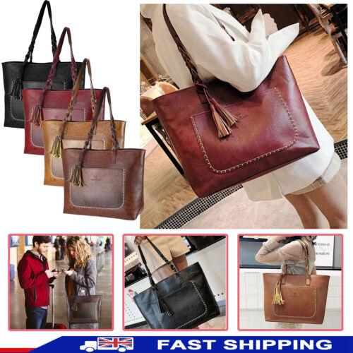 Women's Leather Handbag Sling Satchel Tote Bags Wallets Bag
