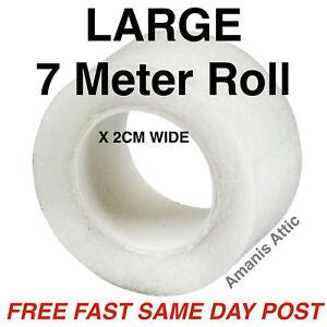 LARGE 7M WONDER WEB IRON ON HEMMING TAPE WEBBING ROLL 7 METERS X 2 CM WIDE