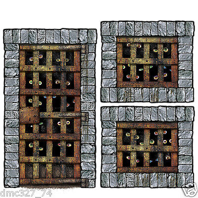 HALLOWEEN Medieval Party Wall Decoration DUNGEON DWELLER Add On Props  Dungeon Dweller Props Wall