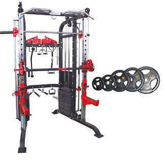 New F50 Functional Trainer with 100kg Olympic Rubber Plates *SALE Malaga Swan Area Preview