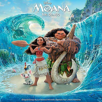 MOANA : Original Motion Picture Soundtrack (LP Vinyl) sealed