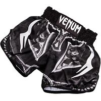 Venum Muay Thai Shorts Gladiator 3.0 Mens Adults Kick Boxing Black - venum - ebay.co.uk