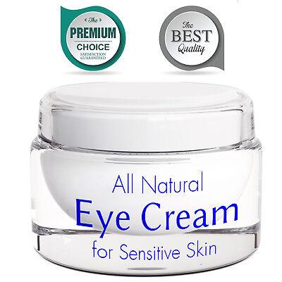 Eye Cream for Wrinkles with Retinol Anti Aging Brightening Cream 100% NATURAL