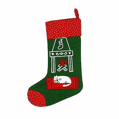 Tag Meowy Cat Christmas Stocking