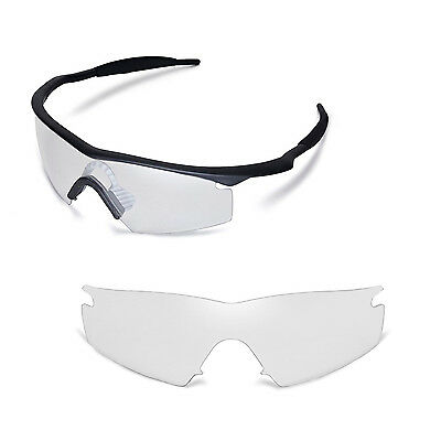 3ffa2448e2 New Walleva Clear Replacement Lenses For Oakley M Frame Strike Sunglasses