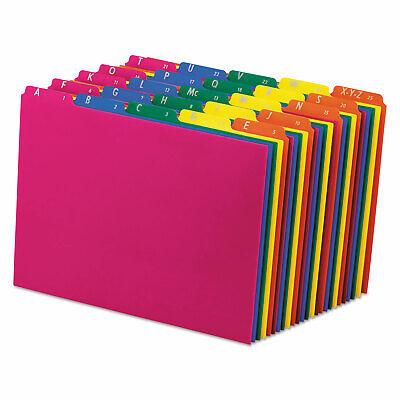 Pendaflex Top Tab File Guides Alphaa-z 15 Tab Polypropylene Letter 25set