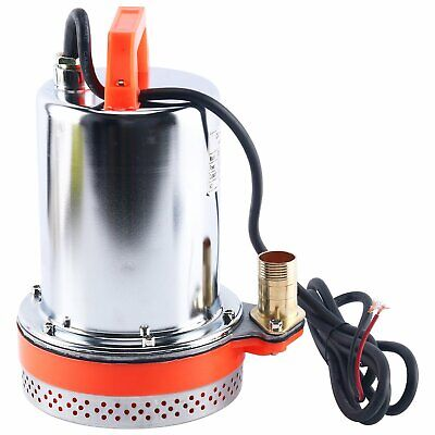 Dc 12v Farm Ranch Solar Water Pump Submersible Well Booster Pump 26ft Lift
