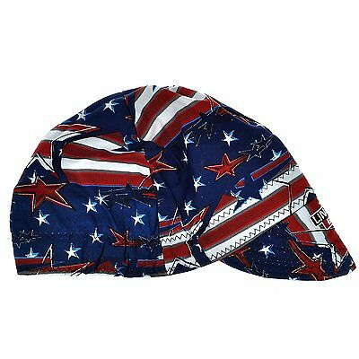 Lincoln K3203-all All American Welding Cap Red White Blues K3203 Electric