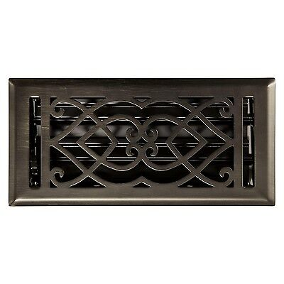 Naiture Steel Wall Register Victorian Style In 9 Sizes and 7 Finishes Steel Wall Register