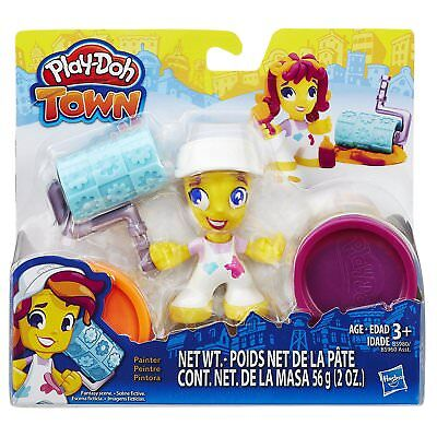 NEW Play-Doh Town Set Painter Hasbro