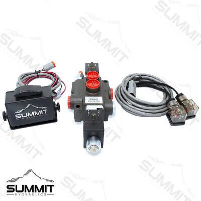 Hydraulic Monoblock Directional Solenoid Control Valve 1 Spool 13 Gpm W Switch