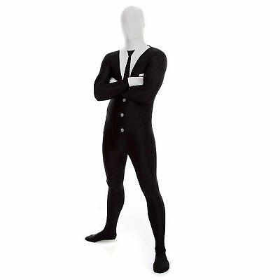 Morphsuits Slenderman Halloween Costume Business Suit Plus Size - Slenderman Morphsuits
