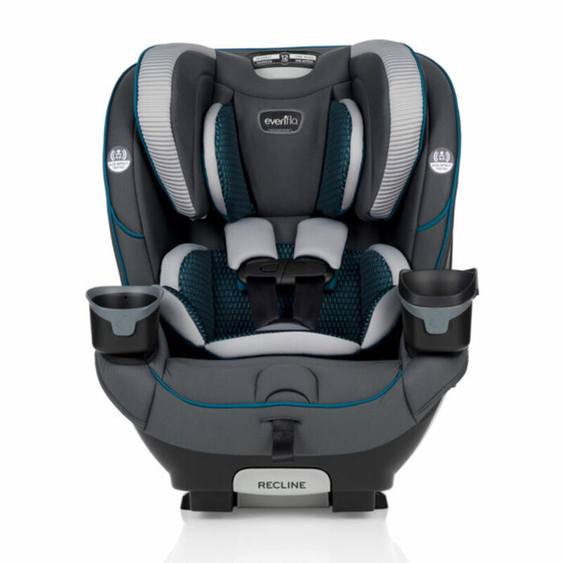 Evenflo EveryFit 39312379 4 in 1 Convertible Car Seat, 10 and Under, Sawyer