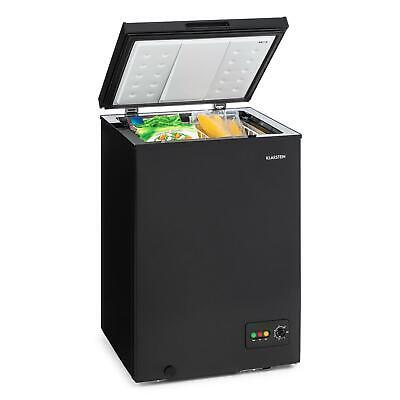 Congelador Nevera 100L 75 W potente Clase Energética A Bajo Consumo Negro