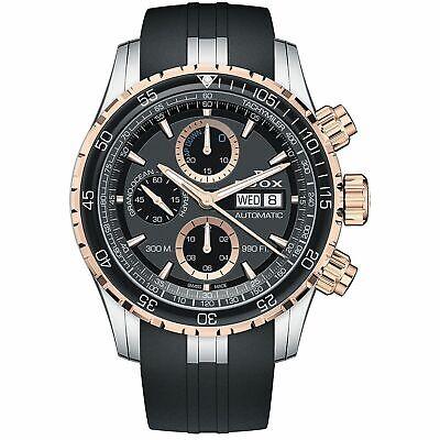 Edox 01123 357RCA NBUR Men's Grand Ocean Black Automatic Watch