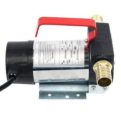 12V DC Fuel Oil Transfer Pump Diesel Kerosene Biodiesel 10.5 gpm Vane Pump ESA