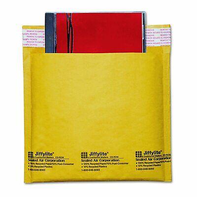 Sealed Air Jiffylite Brown Kraft Cd Air Bubble Mailers10 25 50 Or 100 Pack