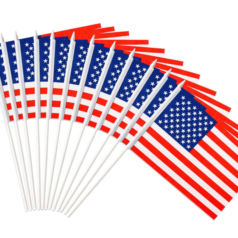 usa stick flag american us 5x8 inch