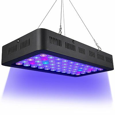 Dimmable LED Aquarium Lights 165w, Full Spectrum for Coral Reef Fish Freshwater