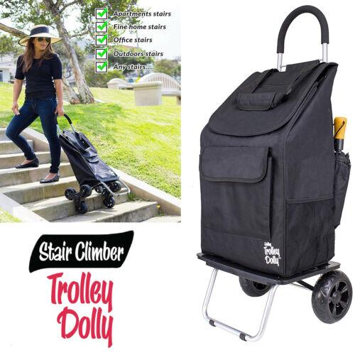 Stair Climbing Trolley Dolly Hand Truck Wheels Climber Folding Shopping Cart