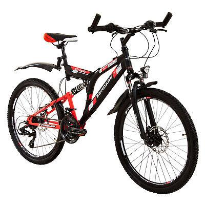 Mountainbike Fully 24 Zoll Full Suspension MTB Fahrrad Zündapp Blue 5.0 B-Ware