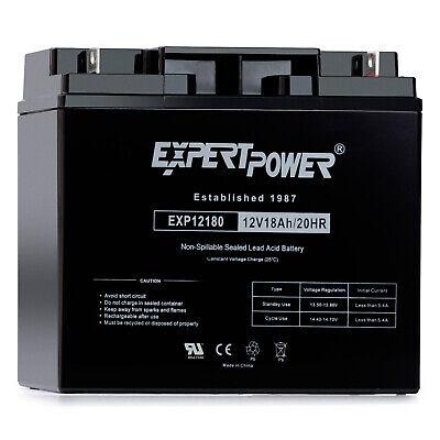 ExpertPower 12Volt 18Amp AGM SLA Universal Battery Replaces 20Ah 22Ah