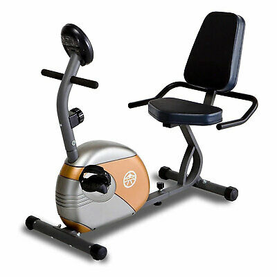 Marcy ME709 Recumbent Magnetic Exercise Bike Cycling Home Gy