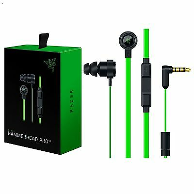 Razer Hammerhead Pro V2 In-Ear Gaming Headphones In-line Volume with Mic