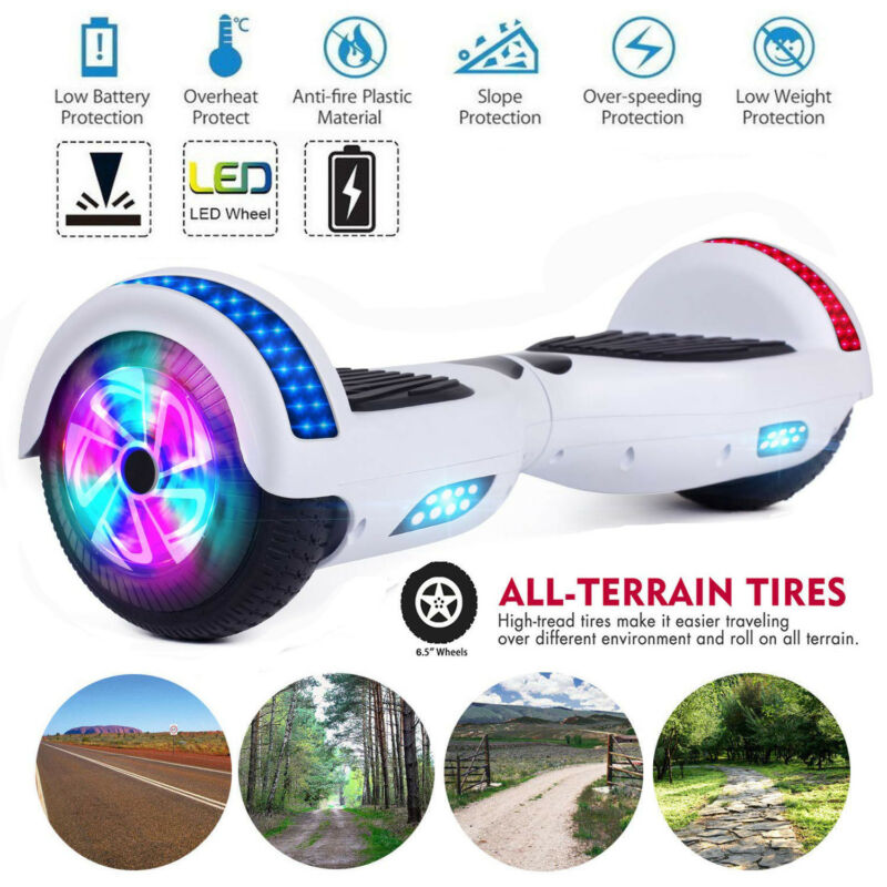 Dual 300W Motors Smart Hoverboard Electric Scooter For Kids