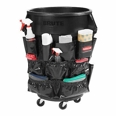 Rubbermaid Commercial Brute Round Container Caddy Bag 12-Pkt Trash Can Storage  Brute Caddy Bag