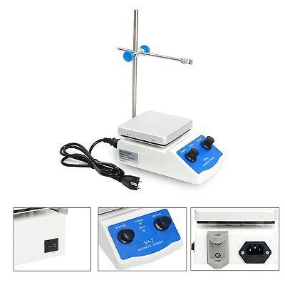 Magnetic Stirrer With Heating Plate Sh-2 Hotplate Mixer 110v Digital Display Usa