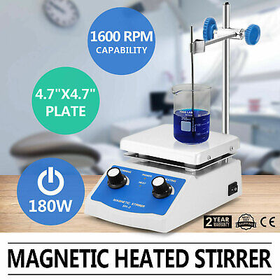 Sh-2 Magnetic Stirrer Hot Plate Dual Control Heating Stirring Holder Laboratory