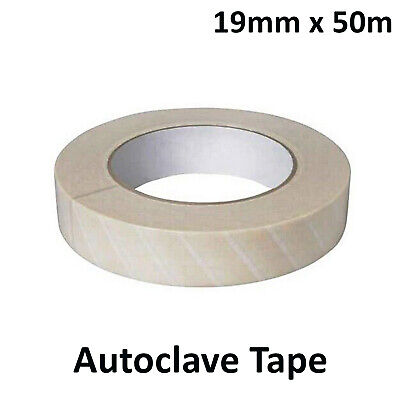 Dental Autoclave Defend Tape Sterilization Indicator 19mm X 50m
