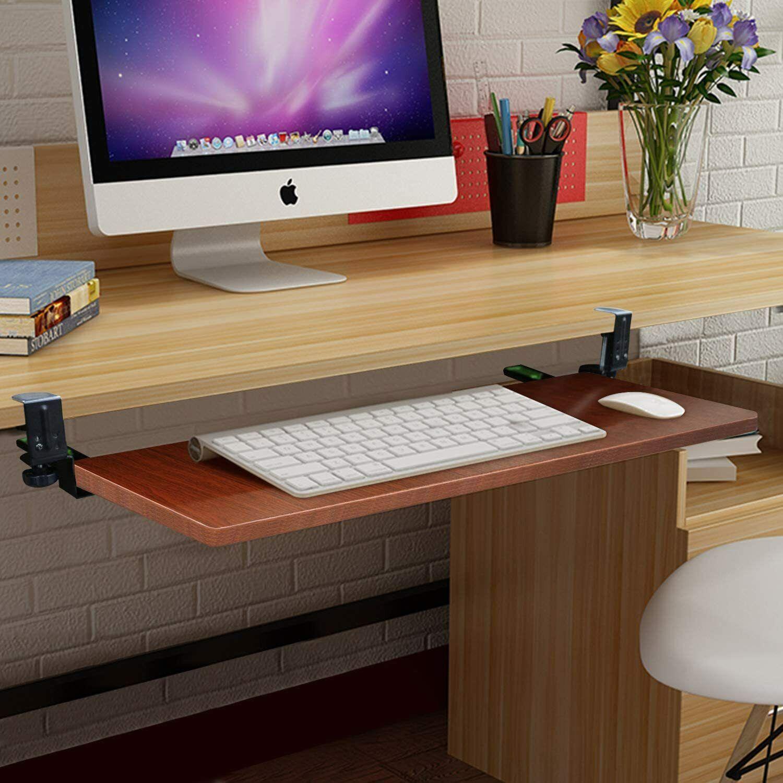 SURPCOS Ergonomic Computer Keyboard Stand w/ Keyboard pad &