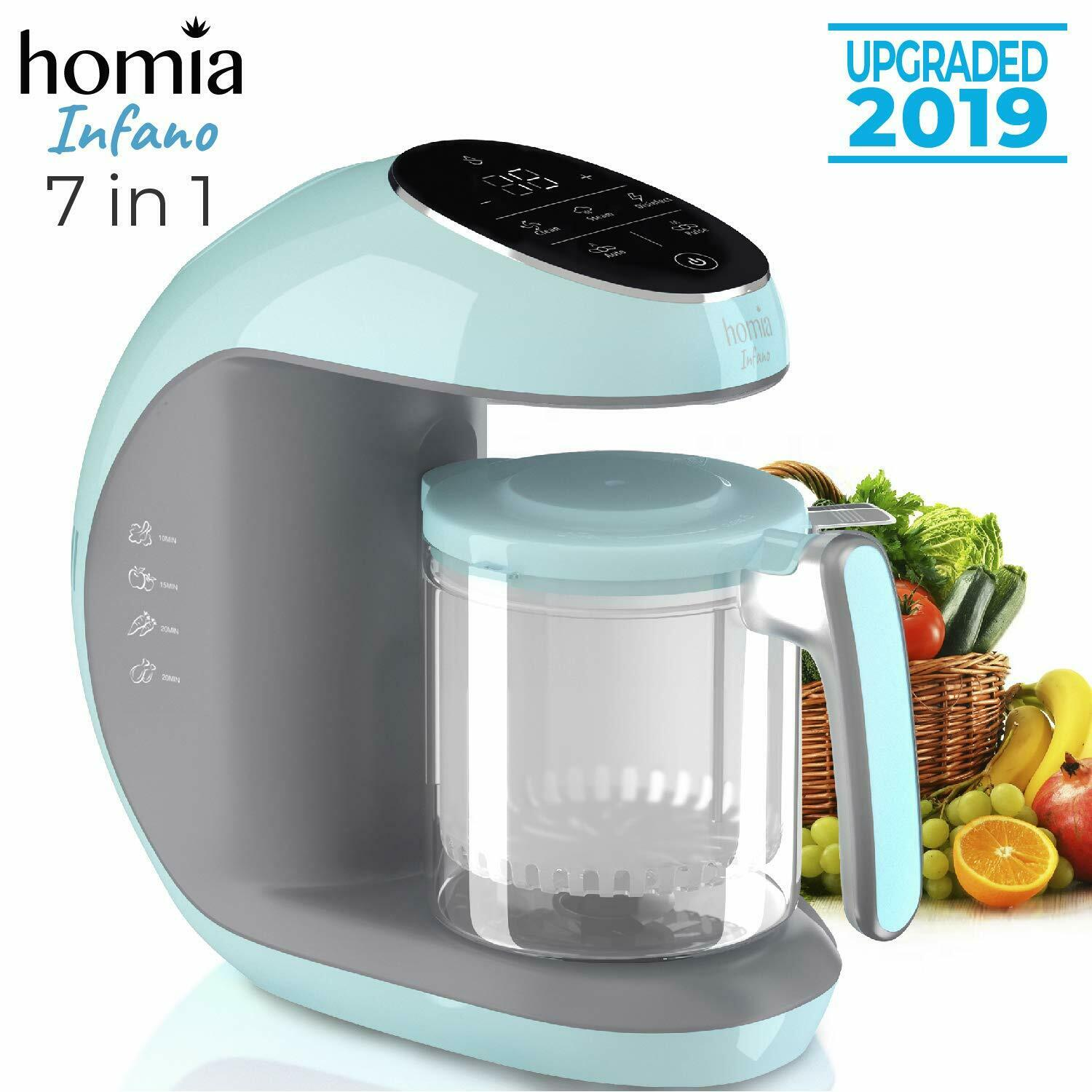 homia infano Baby Food Maker Chopper Grinder- Mills and Stea
