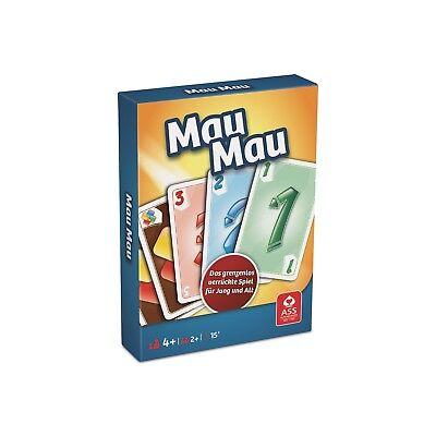 ASS MAU MAU -  NEU - das grenzenlose Kartenspiel für Jung und Alt, ab 4 Jahre