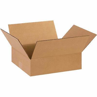 14 X 12 X 4 Flat Cardboard Corrugated Boxes 65 Lbs Capacity 200ect-32