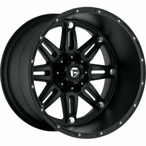 17x9 Black Fuel Hostage 6x4.5 & 6x5 -12 Rims Nitto Dura Grappler LT285/75R17