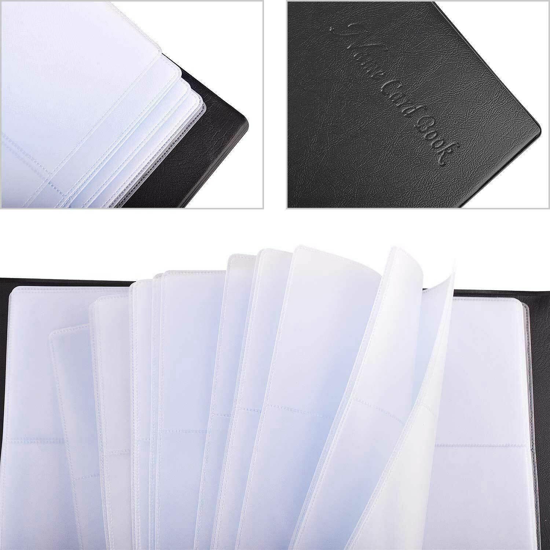 Купить Unbranded/Generic Card Holder - Leather Business Cards Holder Case Organizer 300 Name ID Credit Card Book Keeper