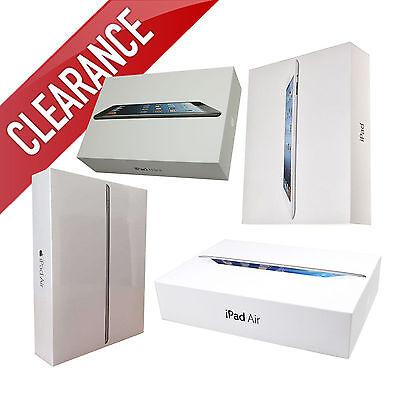 Apple iPad Air-mini-1-2-3-4 128GB-64GB-32GB-16GB Wi-Fi+4G 9.7in/7.9in
