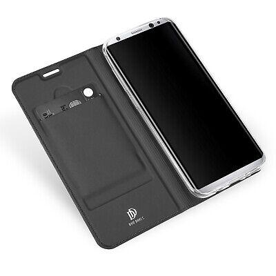 Galaxy-leder Etui (Leder Tasche Etui Flip Case Cover Hülle Bumper Schutzhülle Für Samsung Galaxy S8)